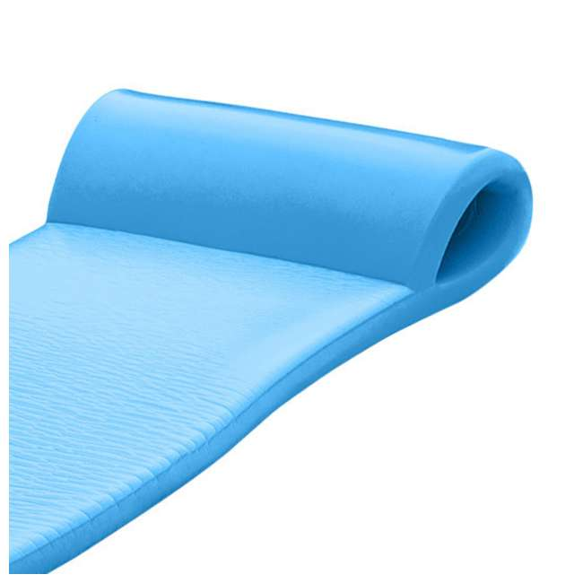 6 x 8020026 Texas Recreation Sunsation Lounger Raft Pool Float, Bahama Blue (6 Pack) 5