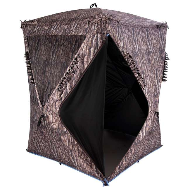 AMEBF3019 Ameristep 2 Person 5.5 Foot Big Country Hub Style Ground Hunting Blind 1