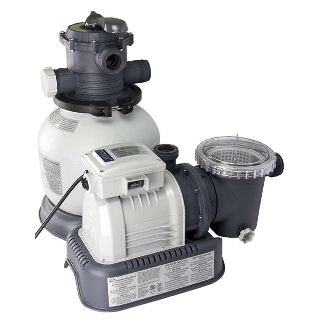 intex 1200 gph krystal clear sand filter pool pump saltwater chlorniator system 28645eg. Black Bedroom Furniture Sets. Home Design Ideas