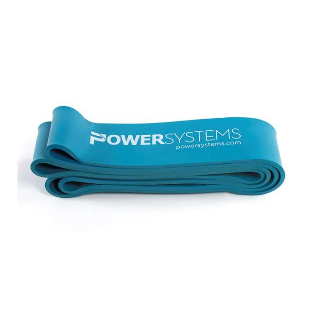 68167 Power Systems 68167 Ultra Heavy 80-100 Pounds of Resistance Strength Band, Blue