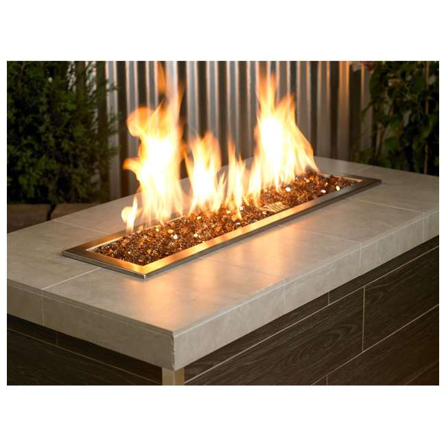AFF-COPRF12-10 American Fireglass 10 LB Bag 1/2 Inch Reflective Fireplace & Pit Glass, Copper 4