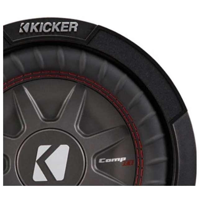 43CWRT82 Kicker 8-Inch 600 Watt CompRT Shallow Subwoofer 3