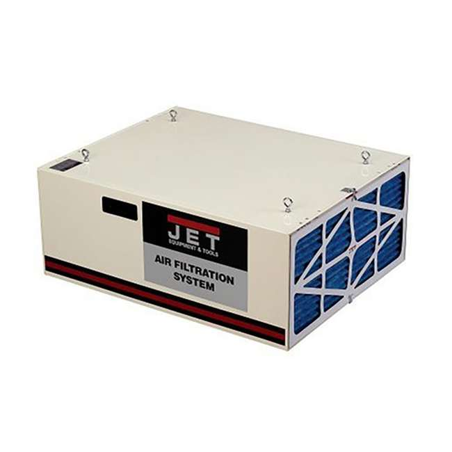JPW-708620B + JET-708732 + JET-708731 Jet Air Filtration System w/ Pleated and Washable Replacement Filters 3