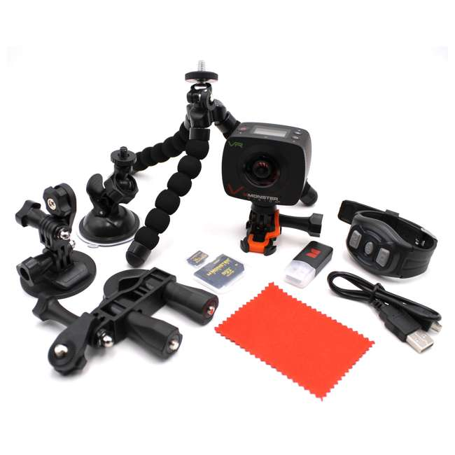 CAMVR-0360-A Monster Digital Vision 360 VR Virtual Reality Camera Set