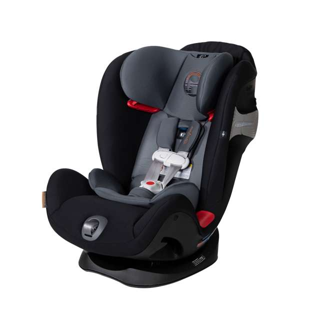 518002887 Cybex Gold Eternis S Convertible Infant Car Seat w/ SensorSafe, Pepper Black