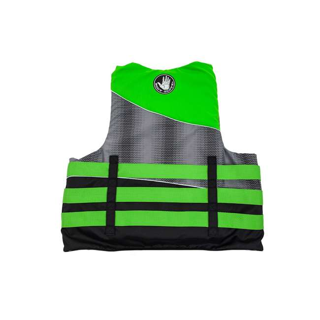 18243LXL Body Glove Method Size Large/Extra Large Life Vest, Green (2 Pack) 1