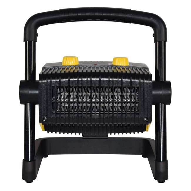 ST-300A-120 Stanley ST-300A-120 Heavy Duty 1500W Portable Forced Air Electric Heater, Black 2