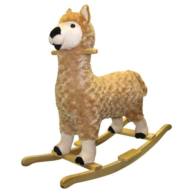 82494 Charm Co. Lorenzo Llama Rocker Battery Operated Noises, for 24 Months and Up
