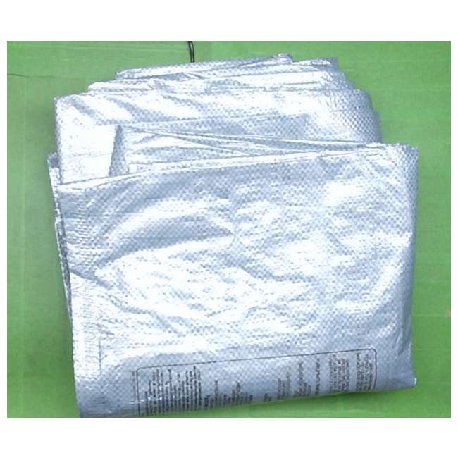 18927-Ground-Cloth Intex Ground Cloth for 16ft Easy Set And Round Frame Pools (New Without Box)