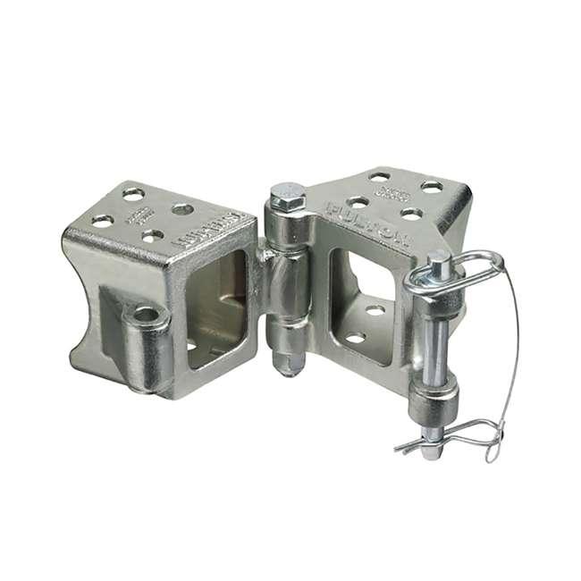 HDPB330101-U-B Fulton 5000 Pound Max Load Trailer Tongue Bolt On Fold Away Hinge Kit (Used) 2