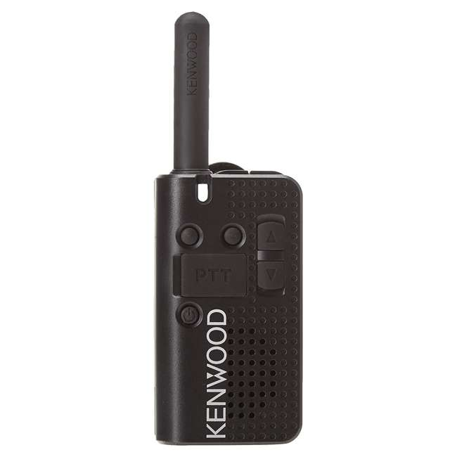 PKT-23K Kenwood PKT-23K Pocket Sized UHF 4 Channel Portable 2 Way Radio Walkie Talkie