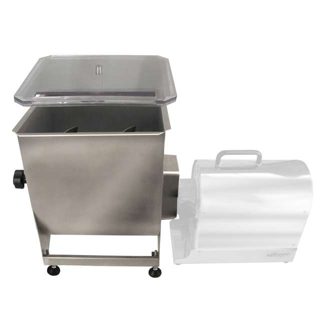 36-2001-W Weston Stainless Steel 44-Pound Capacity Meat Mixer 2