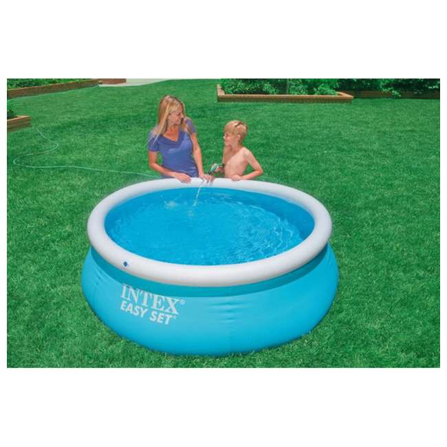 28101EH + 28601EG Intex 6' x 20-Inch Easy Set Inflatable Swimming Pool with Filter Pump 3