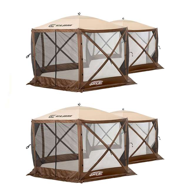 CLAM-EXC-10731 Clam Quick Set Excursion 2 Room Canopy (2 Pack)