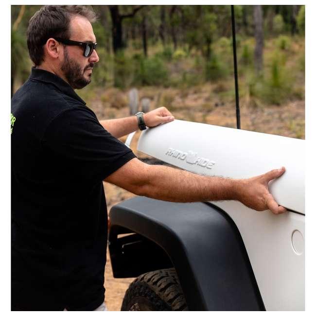 JPJKW2D-DIGI Rhinohide Jeep Wrangler JK 2x4 2-Door Magnetic Body Armor Panels, Digi Camo 2