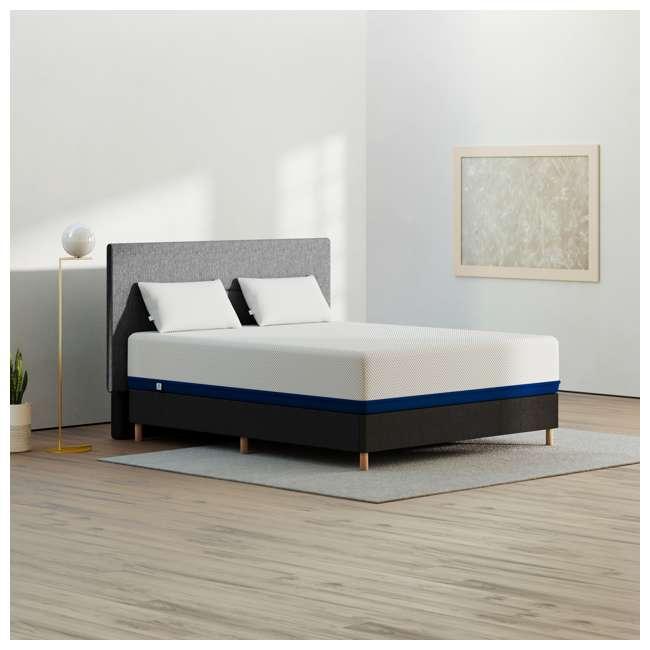 AS5-TXL Amerisleep AS5 Soft Feel Bio Core Plush Foam Active Flex Twin XL Mattress, White 3