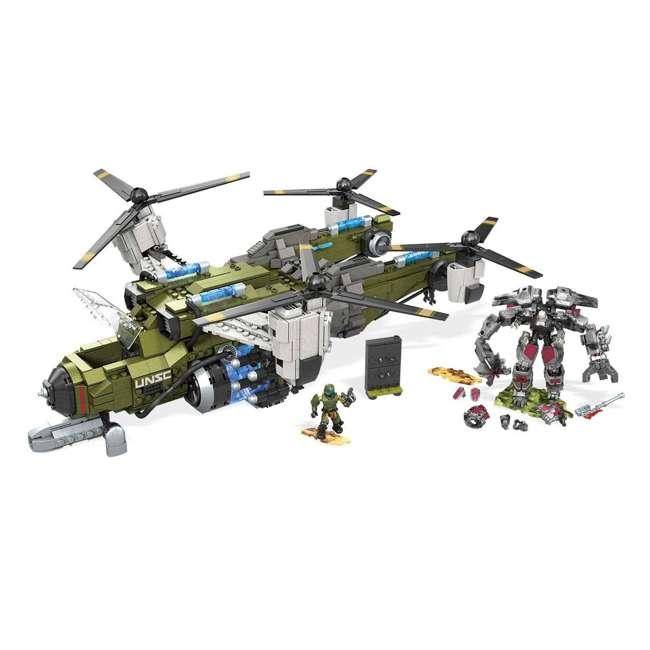 FVK38 Mega Construx Halo UNSC Frostraven vs Decimus Building Set