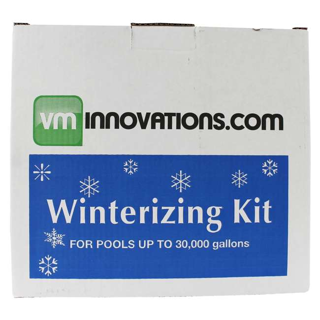 6 x CLOSEKIT-30K VMInnovations Swimming Pool Winterizing Chemical Treatment Closing Kit (6 Pack) 2