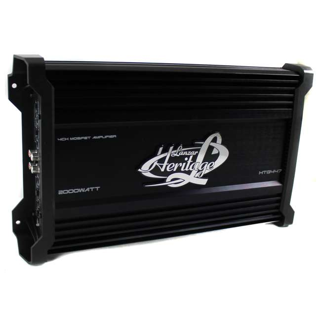 HTG447 Lanzar HTG447 2000W 4 Channel Digital Amplifier (2 Pack) 1