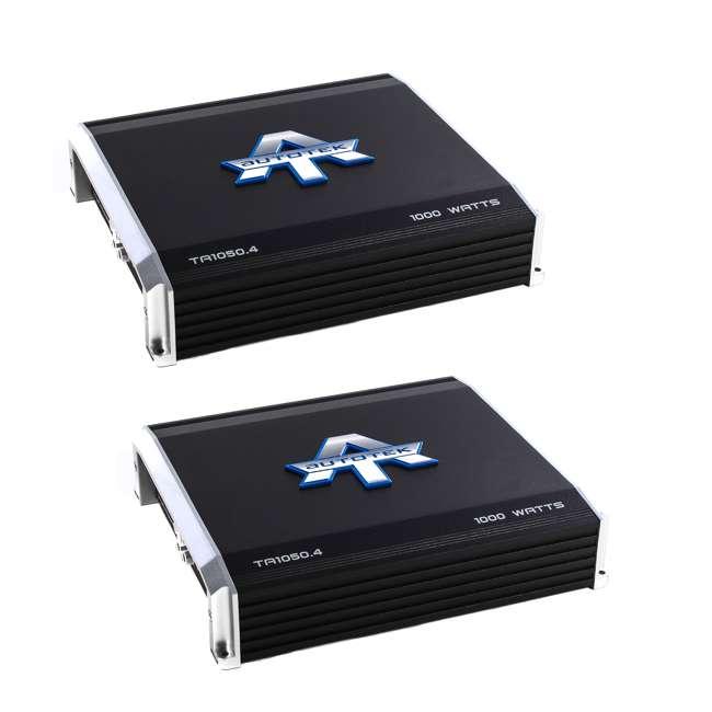 TA1050.4 Autotek TA1050.4 4 Channel 1000W Amp Class A/B Power Amplifier (2 Pack)