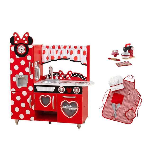 A Kitchen With Vintage Character: KidKraft Disney Jr. Minnie Mouse Vintage Kitchen Set