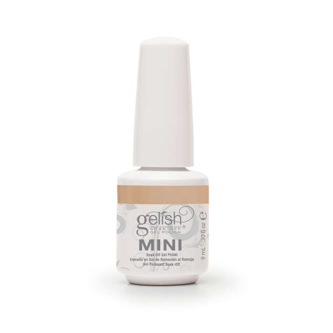 24 x 04251-NeedATan Gelish Mini Need a Tan UV Led Soak Off Gel Nail Polish Bottle 9 mL (24 Pack) 2