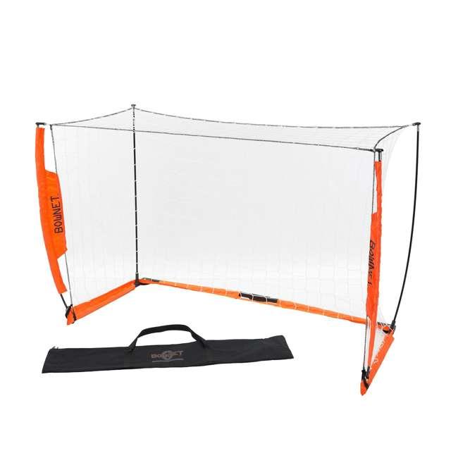 Bow4x6-U-B Bownet 4 Foot x 6 Foot Youth Training Practice Soccer Goal, Orange (Used)
