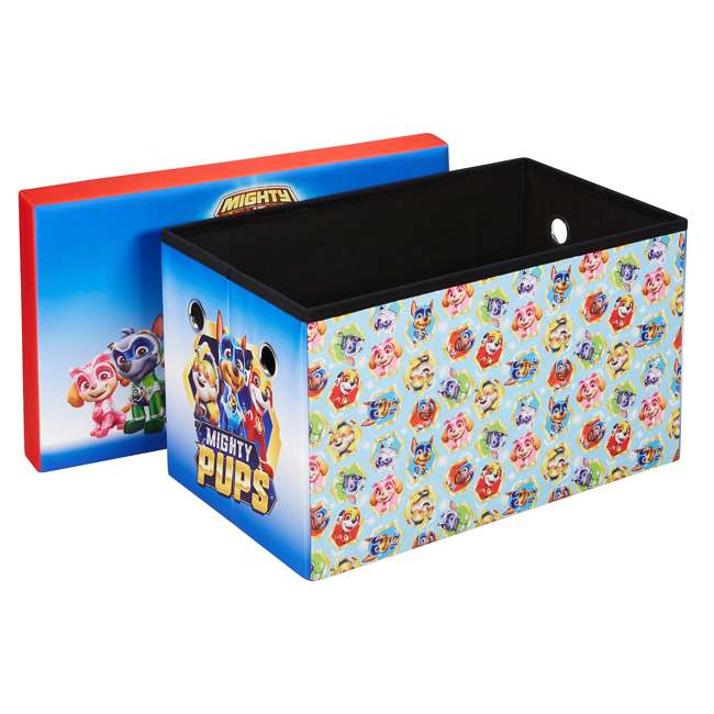 520023-005 Fresh Home Elements 24-Inch Portable Toy Chest and Storage Bench, Paw Patrol 1