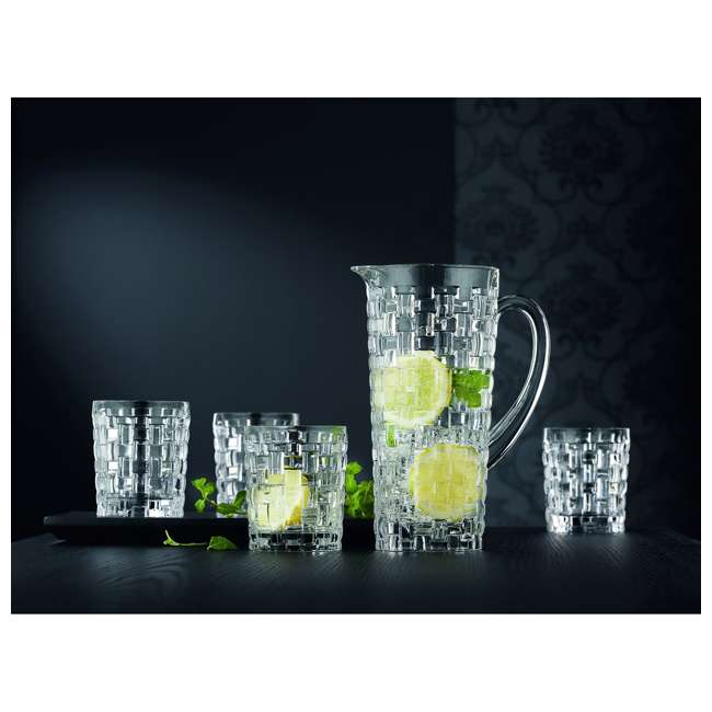 92074 Riedel Nachtmann Bossa Nova 40 Ounce Dishwasher Safe Crystal Water Pitcher Jug 4