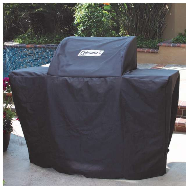 Bull Outdoor Heavy Duty Coleman Barbecue Grill Cover Black