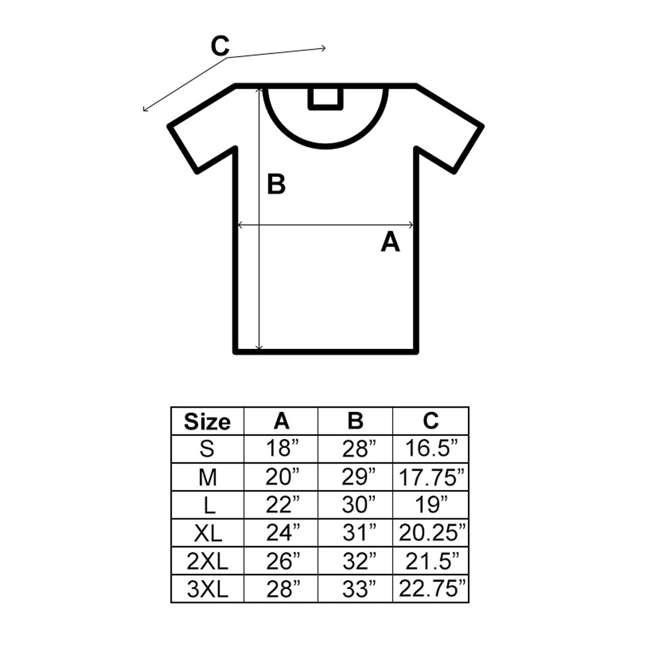 MENS-S-ROYAL Gildan Classic Fit Mens Small Shirt, Royal Blue 5