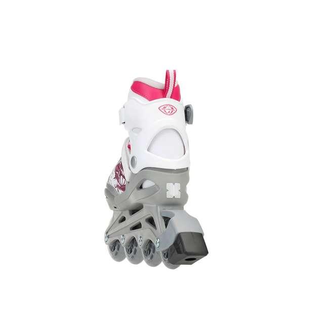 0T817200T1C-S Rollerblade Bladerunner Phoenix Girls Adjustable Skate, Size 1-4 2