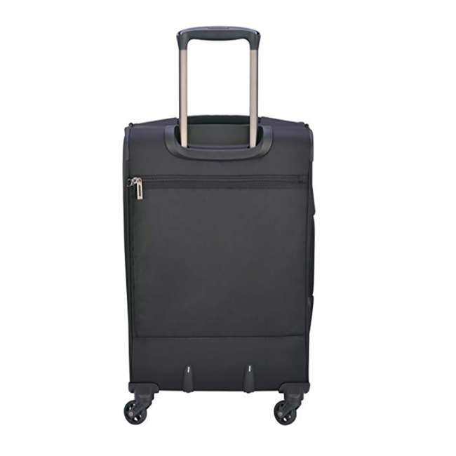 "40328280500 DELSEY Paris Sky Max 20"" Expandable Spinner Upright Large Travel Carry On, Black 2"