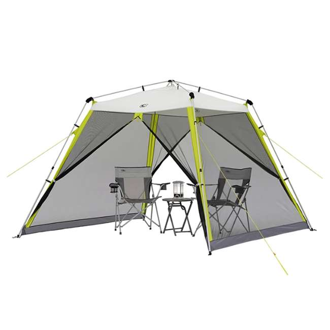 40057 CORE 10 x 10-Foot Instant Screen House Canopy Tent w/ Ground Stakes & Tie Downs 2
