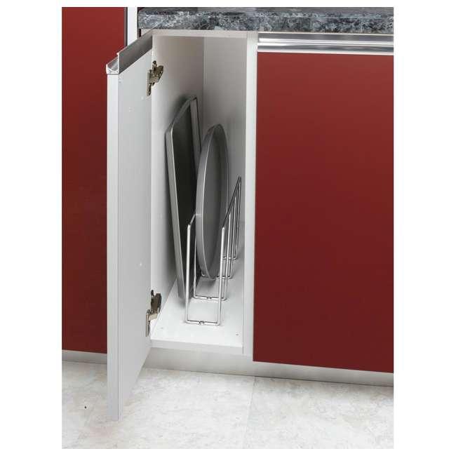 596-10CR-52 Rev-A-Shelf U-Shaped Tray Divider Organizer for Cabinets, Chrome (2 Pack) 4