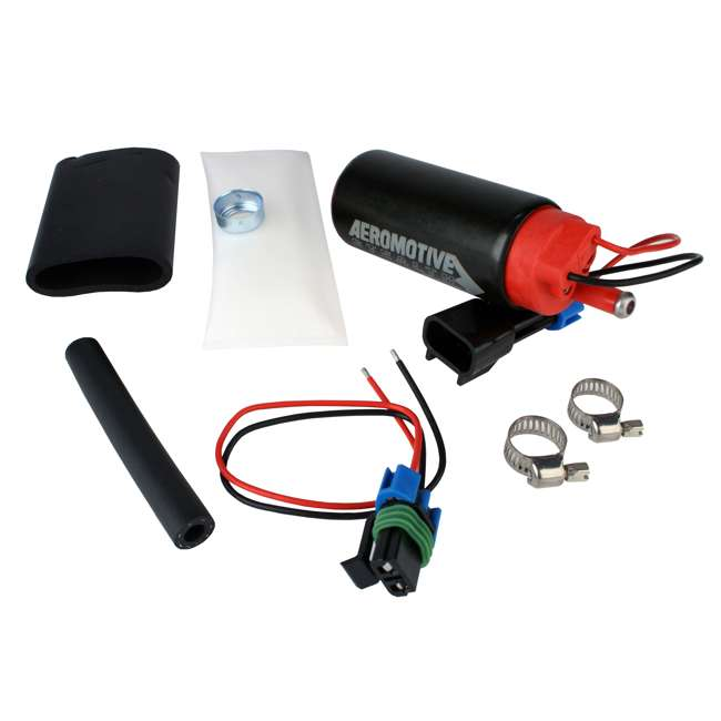AERO-11569 Aeromotive 340 Series Stealth In-Tank Center Inlet-Offset E85 Fuel Pump System