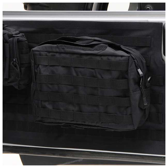 5662301-SMITTYBILT Smittybilt GEAR 2007-2016 Jeep Storage Bag Tailgate Cover