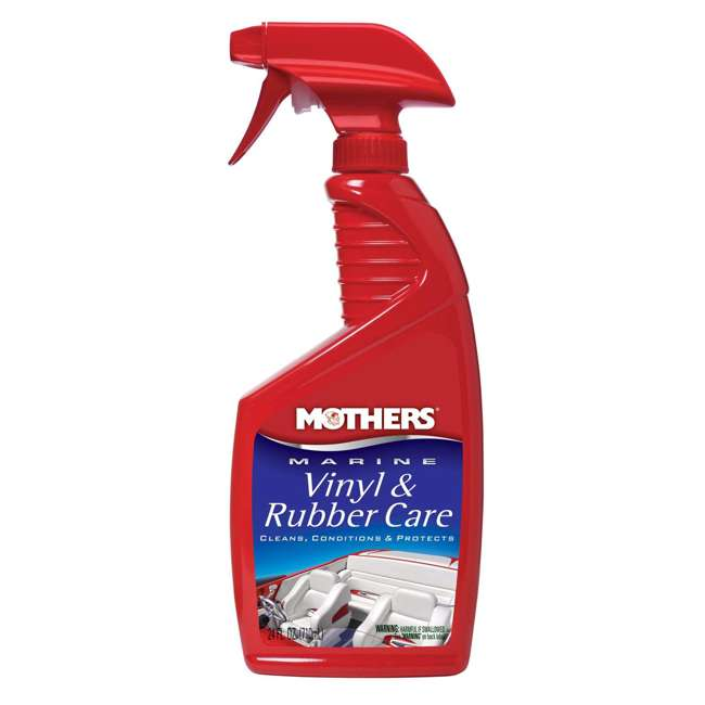 91424 Mothers Polish 24 Oz Marine Vinyl and Rubber Care for Interiors (6 Pack) 1