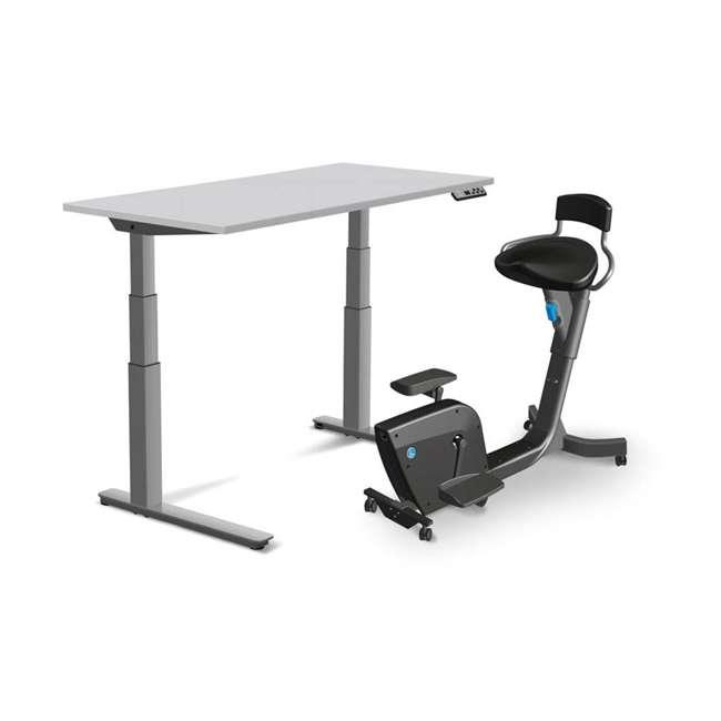 Solo-U-B LifeSpan Fitness Solo Under Desk Workout Cardio Stationary Bike w/ Seat (Used) 4