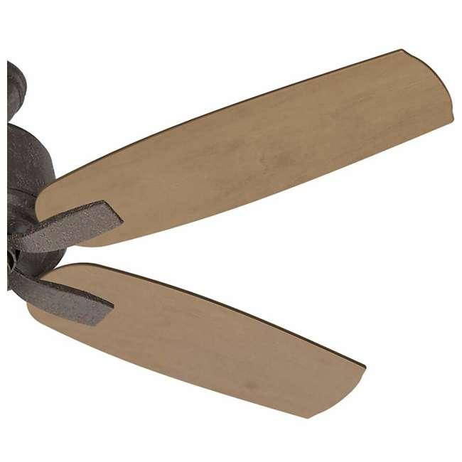 54133 Casablanca 54133 Areto 54 Inch Industrial Rust Ceiling Fan with 5 Rustic Blades 1