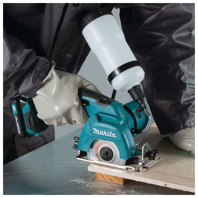 CC02R1 Makita 12-Volt CXT 3-3/8 Inch Tile Glass Saw Kit (2 Pack) 4