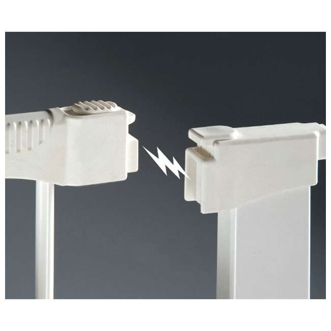 G1200 KidCo Extra Tall & Wide Auto Close Gateway Gate, White (2 Pack) 4