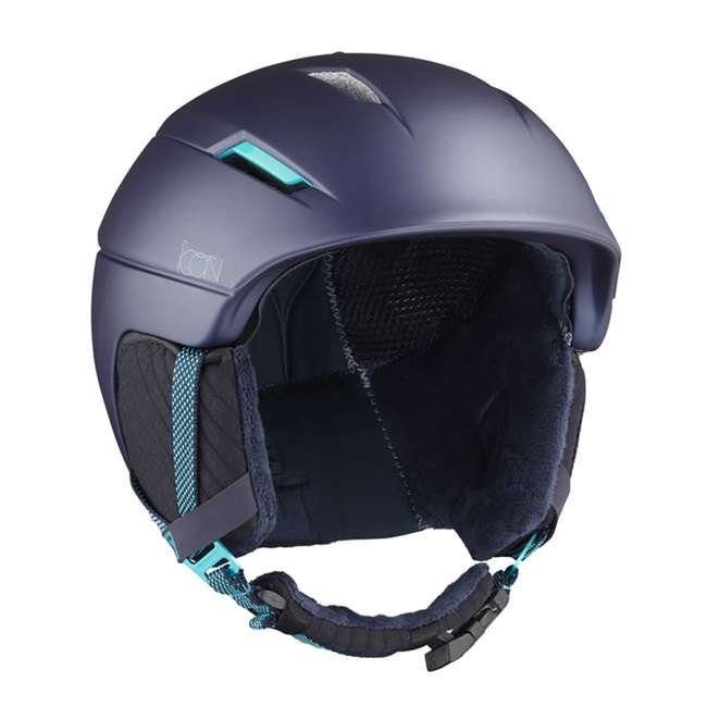 6 x L39913300 - M Salomon Icon2 C.Air Womens Ski Helmet Medium, Blue (6 Pack) 1