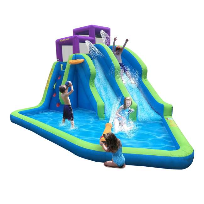 90793 Kahuna Twin Falls Inflatable Water Slide