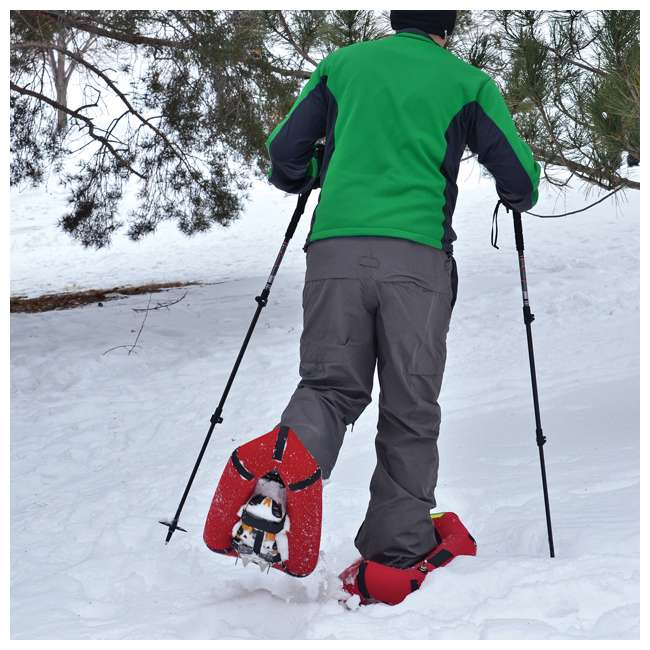 80-8001-U-A Yukon Charlie's Airlift Emergency Inflatable Snow Shoes w/ Crampons (Open Box)