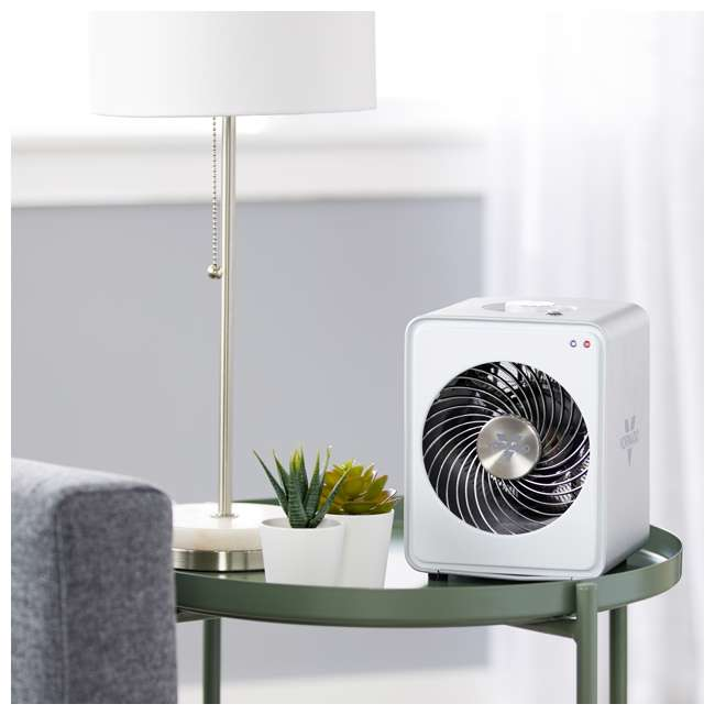 VMH10-WHITE Vornado Personal Vortex Circulation Metal Heater 7