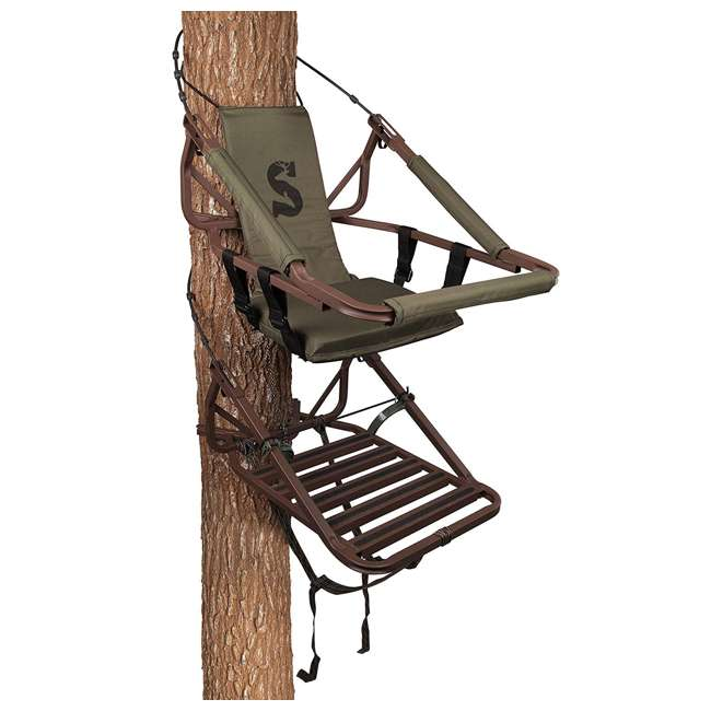 SU81137-VIPER-STEEL Summit Viper Steel Self-Climbing Single Seat Deer Treestand 1
