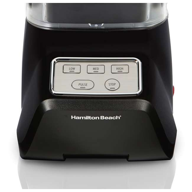 53603 Hamilton Beach 53603 Sound Shield 950 Watt 52 oz Countertop Blender Mixer, Black 5