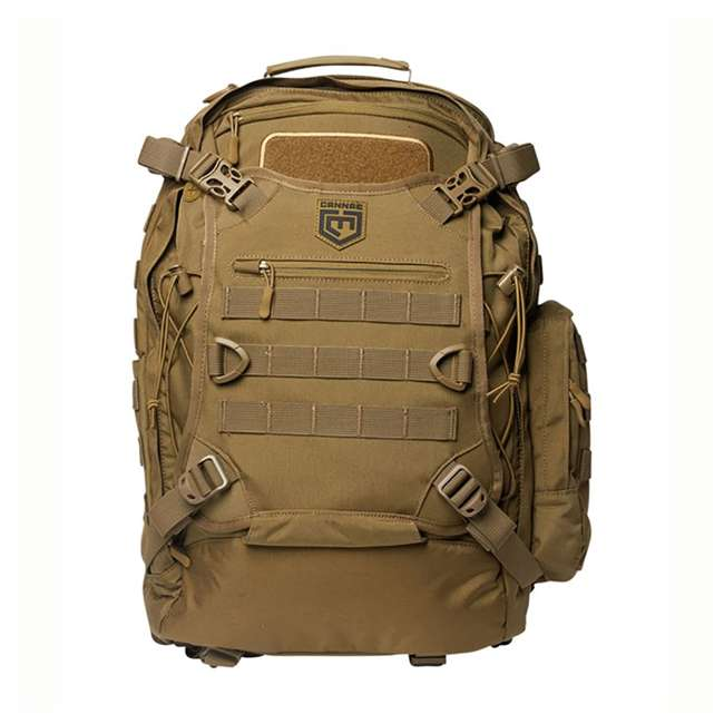 CPG-BP-PHAL-L-C Cannae Pro Gear Full Size 30L Duty Pack w Helmet Carry, Coyote