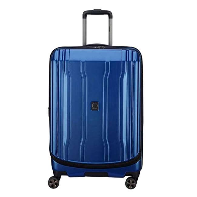 """40207982002 DELSEY Paris Cruise Lite 2.0 25"""" Hardside Expandable Suitcase Travel Bag, Blue"""